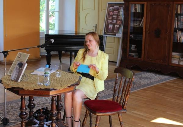 Spotkanie autorskie z Katarzyną Pylak.
