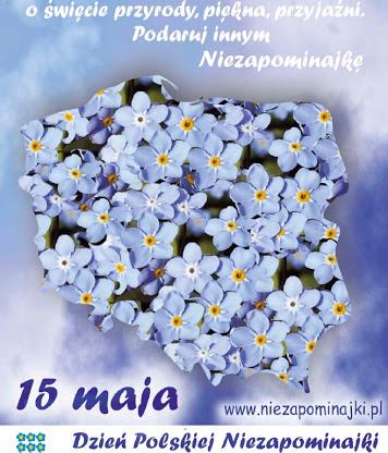 """""""ZNAJDZIESZ MNIE W BIBLIOTECE""""- Dzień Polskiej Niezapominajki."""